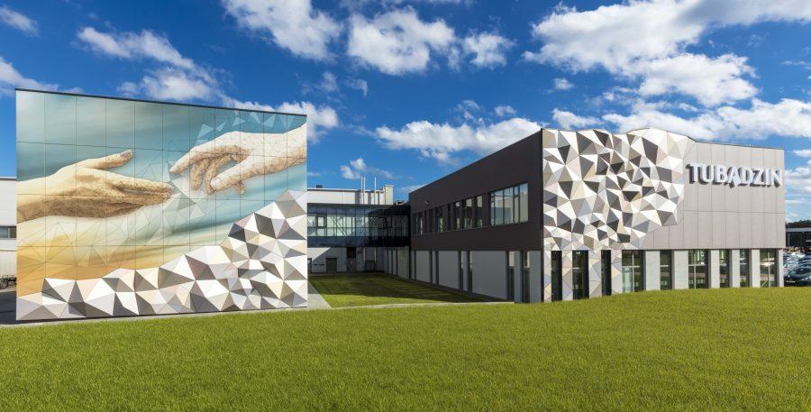 Grupa Tubądzin otworzyła nowoczesne centrum logistyczne pod Łodzią