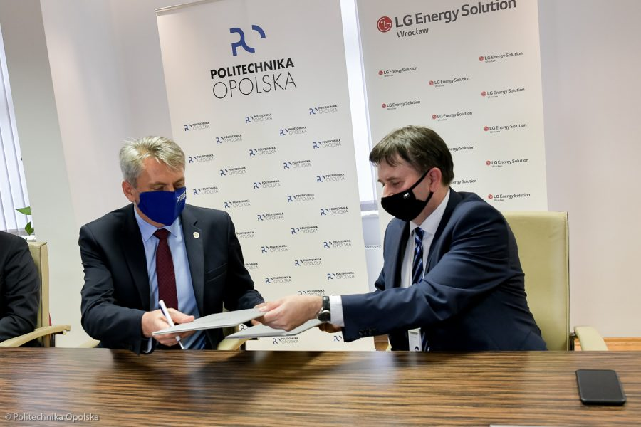 LG Energy Solution Wrocław współpracuje z Politechniką Opolską