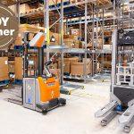 Zintegrowane z rozwiązaniem automatyzacyjnym STILL iGo systems wózki podnośnikowe STILL EXV w magazynie Danfoss komunikują się ze sobą, zapewniając wydajną pracę.