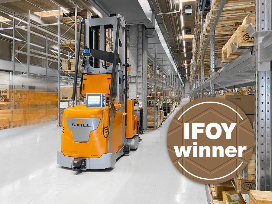Projekt STILL w Danfoss nagrodzony IFOY 2021!