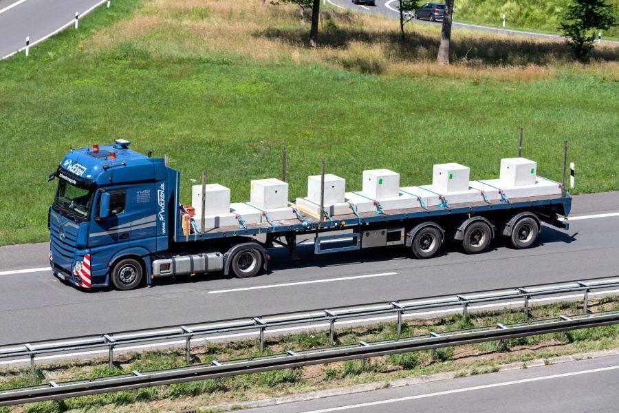 DSRC wskaże podejrzane ciężarówki