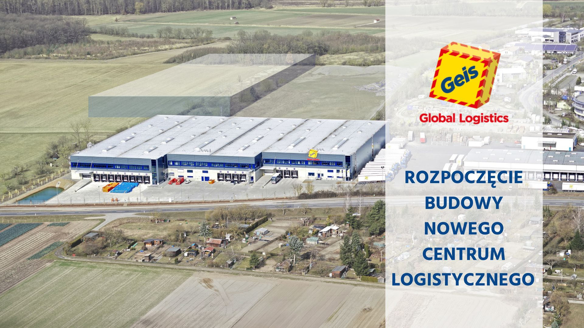 Otwarcie pierwszej części nowego centrum logistycznego w Norymberdze