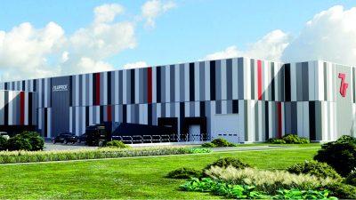 7R buduje specjalistyczny magazyn BTS dla Aluprof SA