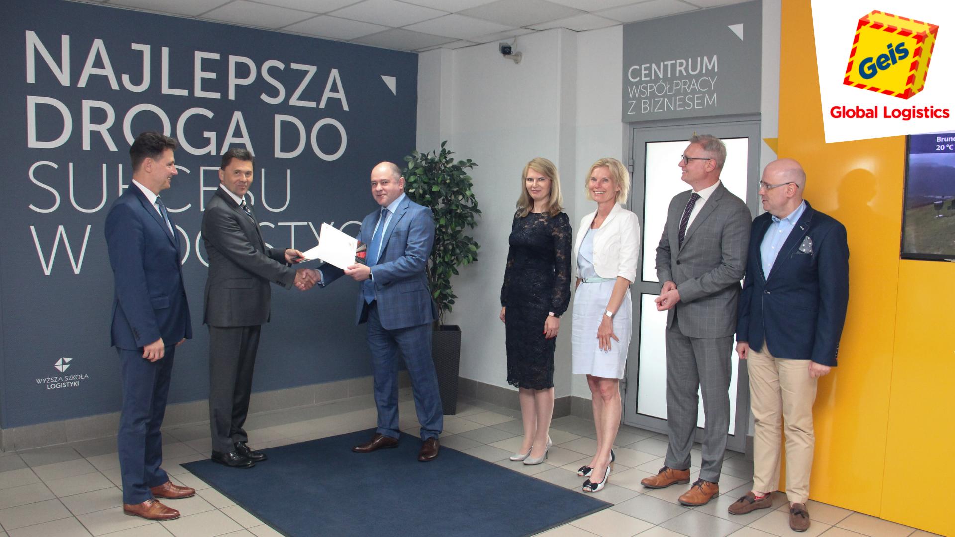 Geis PL w gronie Rady Pracodawców Wyższej Szkoły Logistyki w Poznaniu