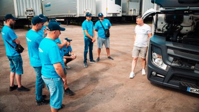 Hegelmann Poland z własną szkołą jazdy dla kierowców ciężarówek