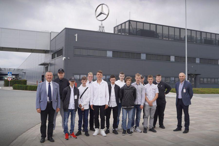 Mercedes-Benz Manufacturing Poland ma drugą klasę patronacką