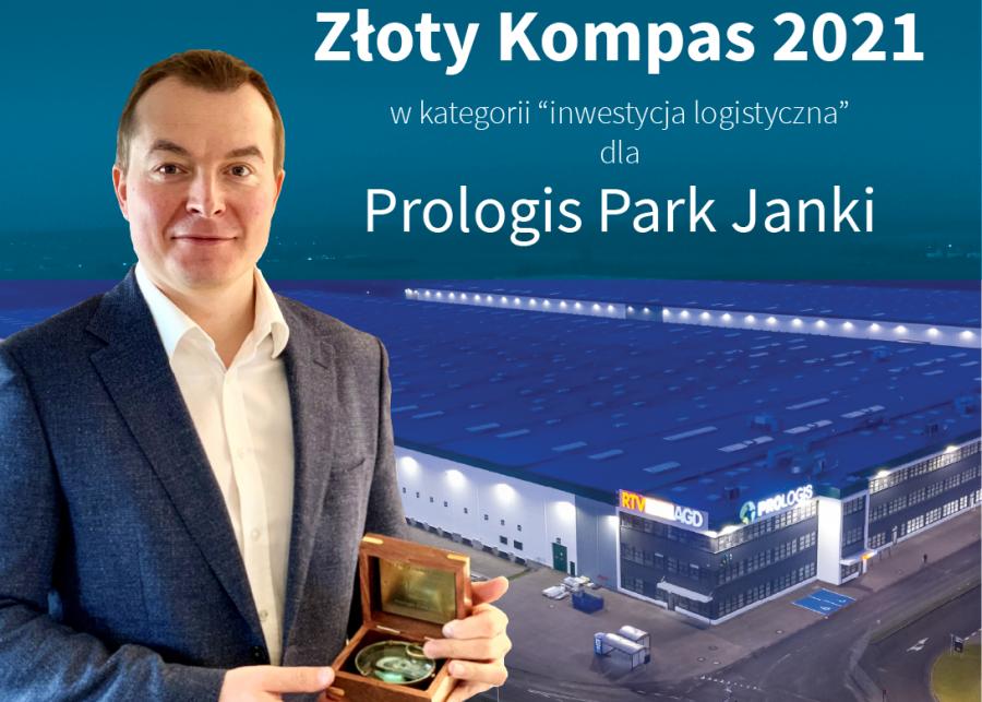 Złoty Kompas dla Prologis Park Janki