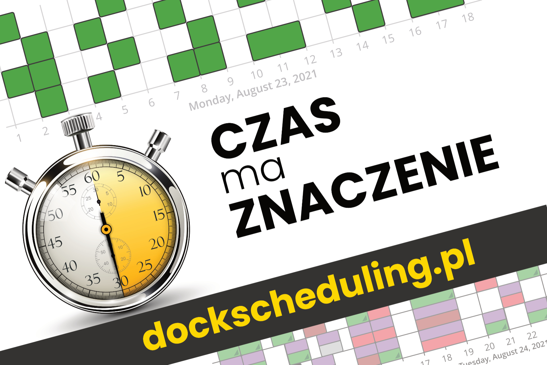 Zarządzanie pracą doku – awizacja dostaw i okna czasowe