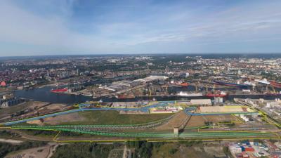 Rozbudowa dróg i torów w rejonie Nabrzeża Przemysłowego w Porcie Gdańsk
