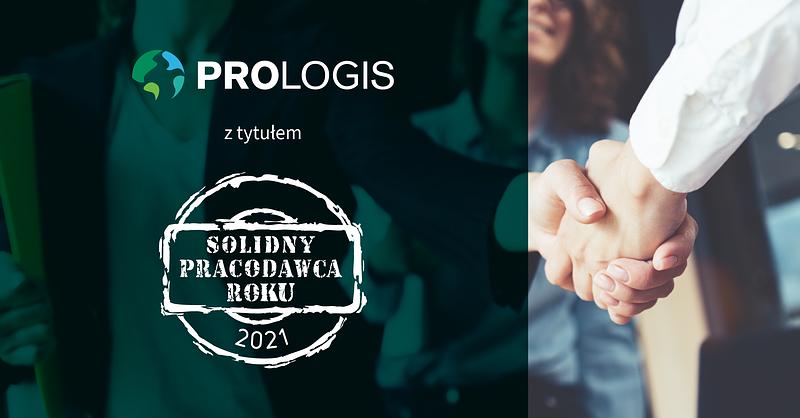 Solidny Pracodawca Roku 2021  – wyróżnienie dla Prologis