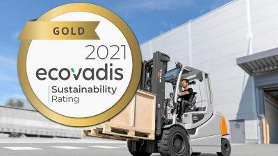 STILL z certyfikatem EcoVadis na poziomie gold