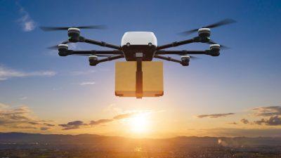 Drony cargo na lotniskach